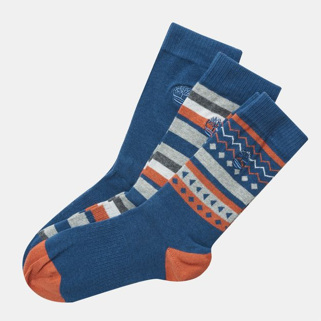 bbe8a8855b901 Timberland Crew Socks (3 Pack)   Socks   Accessories   Men's Sale ...