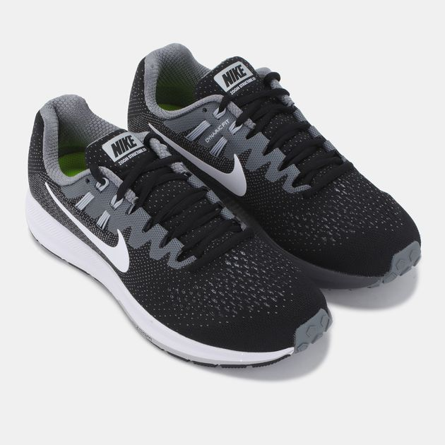 new style 6b330 b4544 Shop Black Nike Air Zoom Structure 20 Shoe for Womens by ...