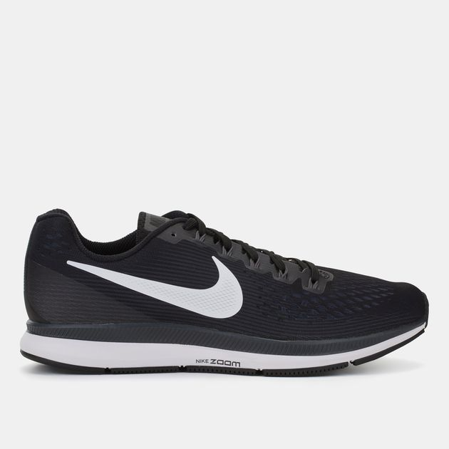 sports shoes f7140 c7a56 Shop Black Nike Air Zoom Pegasus 34 Running Shoe for Mens by ...