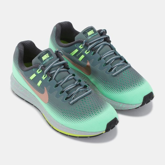 new collection low price low priced Shop Green Nike Air Zoom Structure 20 Shield Shoe for Womens ...