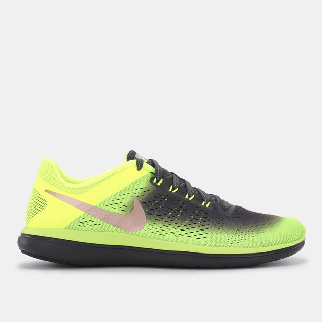 4bee46085dd4f Shop Yellow Nike Flex 2016 RN Shield Shoe for Mens by Nike