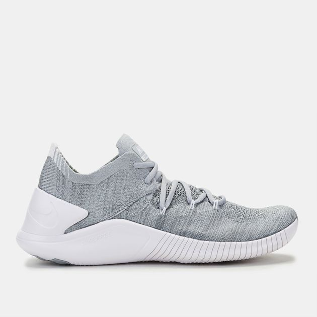 a96a72026c9ec Shop Grey Nike Free TR Flyknit 3 for Womens by Nike | SSS