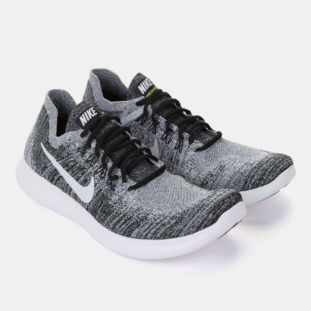 best sneakers 1d8ec 1a79f Shop Black Shop Grey Nike Free RN Flyknit 2017 Shoe for Mens ...
