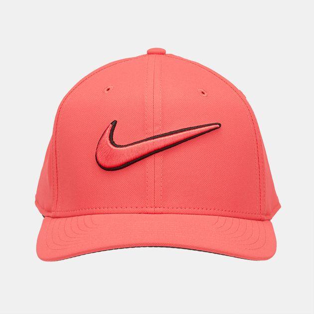 7a37cc2d299 Shop Pink Nike Golf Classic 99 Swoosh Cap