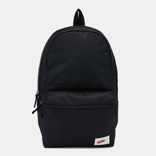 Nike Heritage Label Backpack - Black