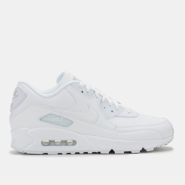 online store f6a91 00a8b Nike Air Max 90 Leather Shoe