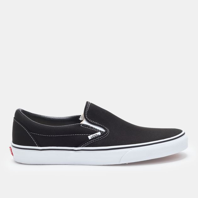 165b3b177b Shop Black Vans Classic Slip-On Shoe for Unisex by Vans