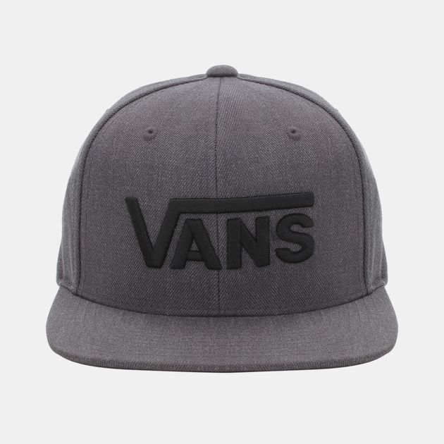 331ae7e4b7b Shop Black Vans Drop V Snapback Cap for Mens by Please select a ...