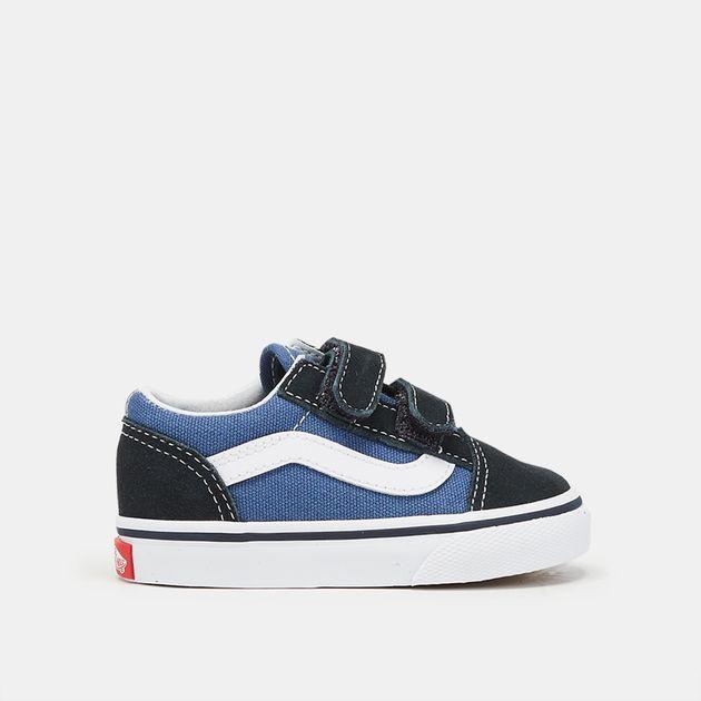 5059498029edf7 Blue Vans Toddler Old Skool V Shoe