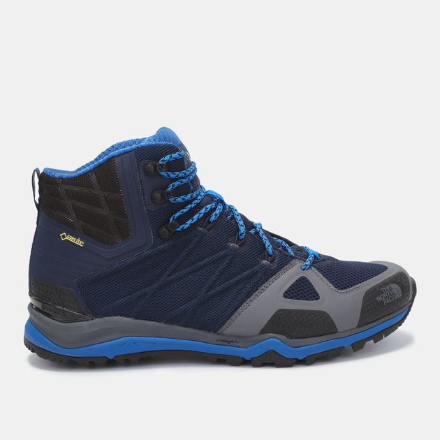 half off 2f795 c87de Shop Blue The North Face Ultra Fastpack II Mid GTX Shoe for ...