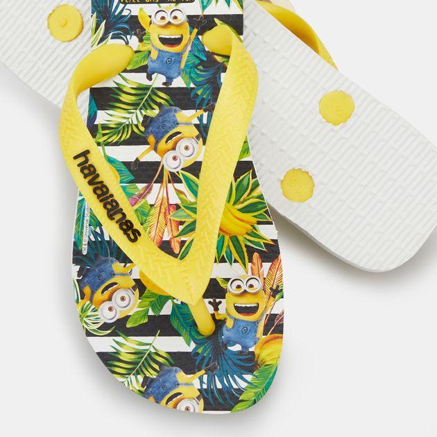 1a5edeb58cf65f Havaianas Kids  Minions Flip Flops (Younger Kids)
