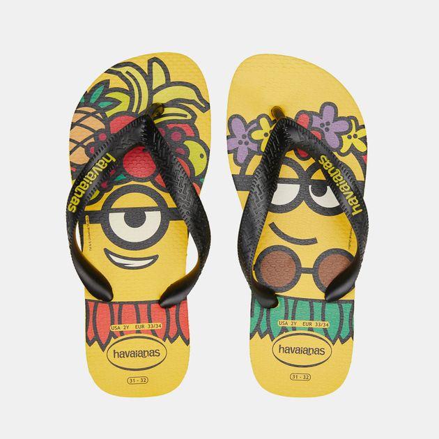 6b511eadd4d6bd Havaianas Kids' Minions Flip Flops (Older Kids) | Sandals and Flip ...