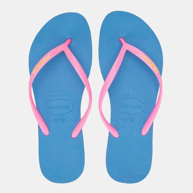 76d6fcdbd Havaianas Women's Slim Logo Flip Flops