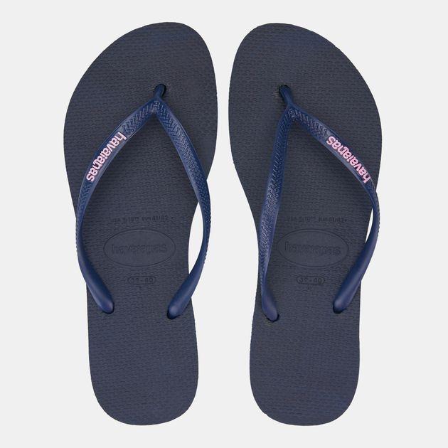 0069de7f011f Havaianas Women s Slim Logo Flip Flops