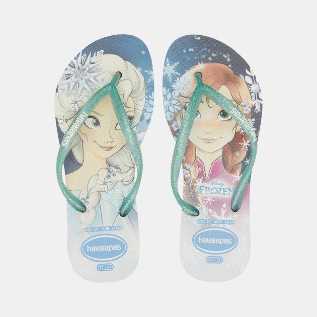 008dea373e Havaianas Kids' Slim Frozen Flip Flops (Older Kids) | Sandals and ...