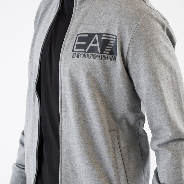 low priced 16104 b24fb EA7 Emporio Armani Men's Train 7 Visibility Full Zip Jacket