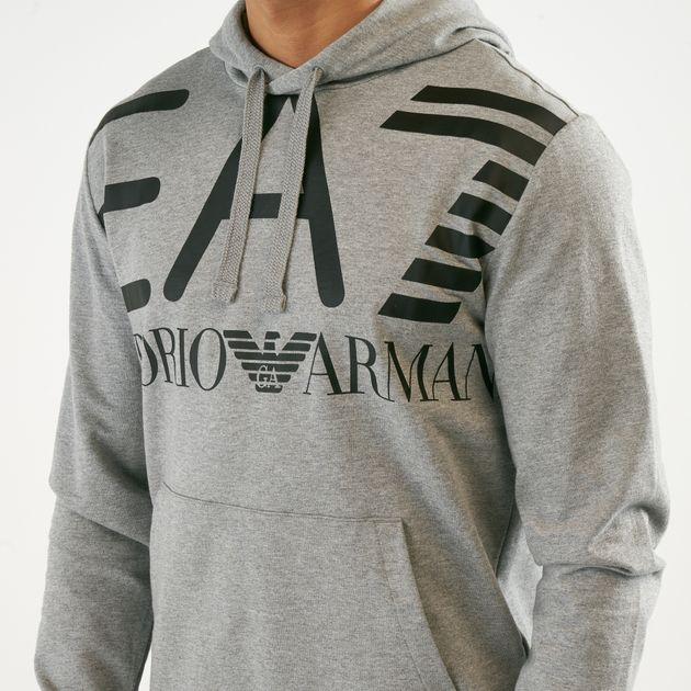 b3414074 EA7 Emporio Armani Men's Logo Hoodie   Hoodies   Hoodies and ...