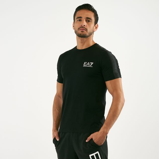 ebe444750 EA7 Emporio Armani Men's Tape T-Shirt | T-Shirts | Tops | Clothing ...