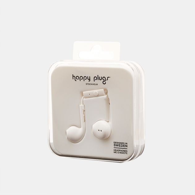 Happy Plugs Earbud Plus - White