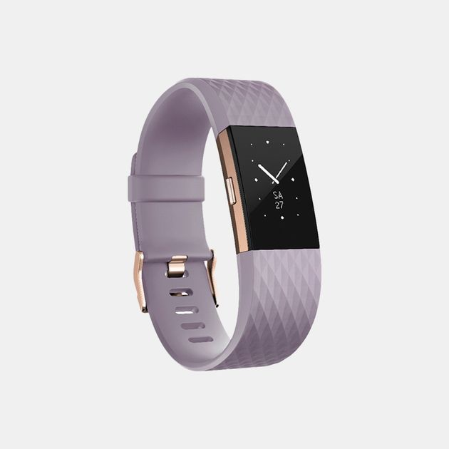 Fitbit Charge 2 Lavender Rose Gold Small - Purple