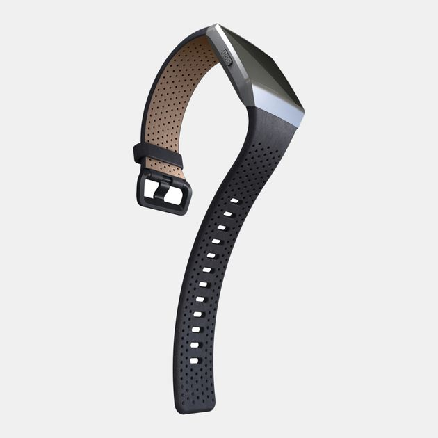 Fitbit Ionic Leather Band - Black