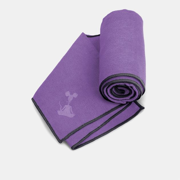 YogaRat Yoga Mat Towel - Purple
