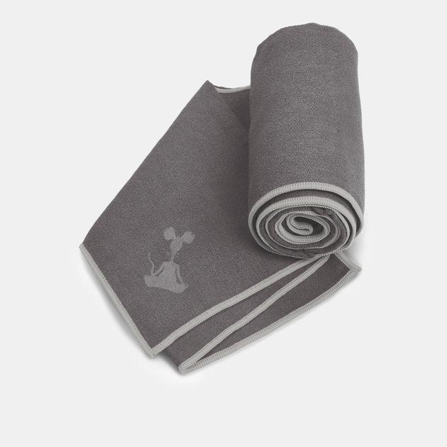 YogaRat Yoga Mat Towel - Grey
