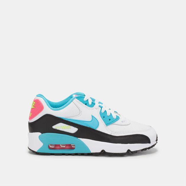 Nike Kids' Air Max 90 Mesh (Grade School) Shoe
