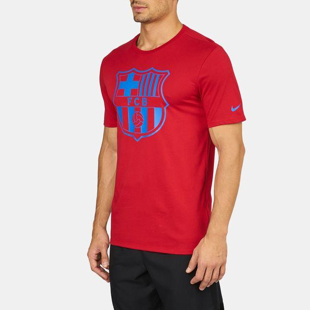 cb45fc08 Nike FC Barcelona Dry Crest T-Shirt   T-Shirts   Tops   Clothing ...