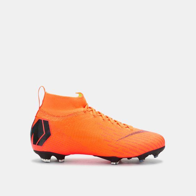 uk availability 53ec6 59e0b Shop Orange Nike Kids' Mercurial Superfly 360 Elite Firm ...