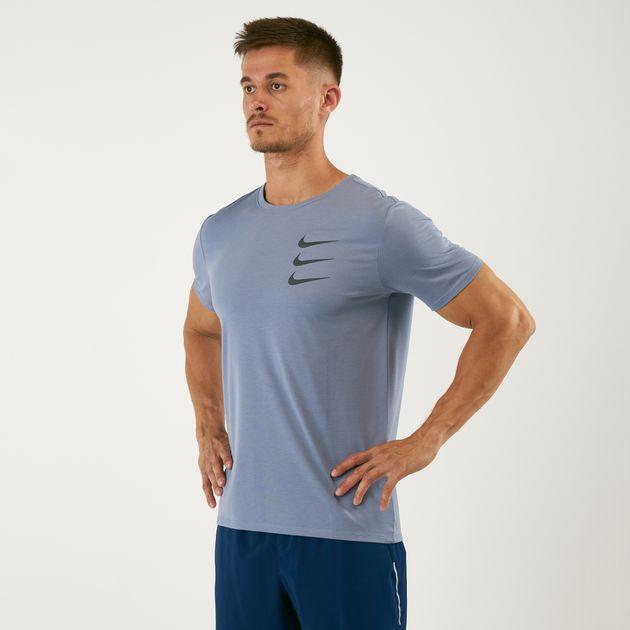 Nike Men's Dri Fit Run Division T Shirt | T Shirts | Tops