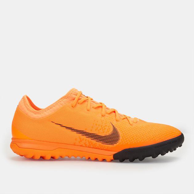Shop Orange Nike Mercurial VaporX 12 Pro Turf Ground Football Shoe ... 4db7ad8e8