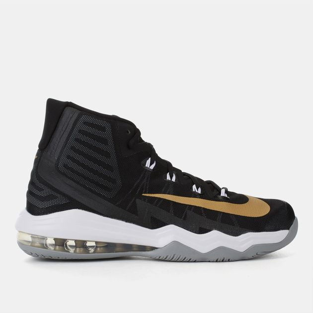 01853fcd090c Shop Black Nike Air Max Audacity 2016 Basketball Shoe for Mens by ...