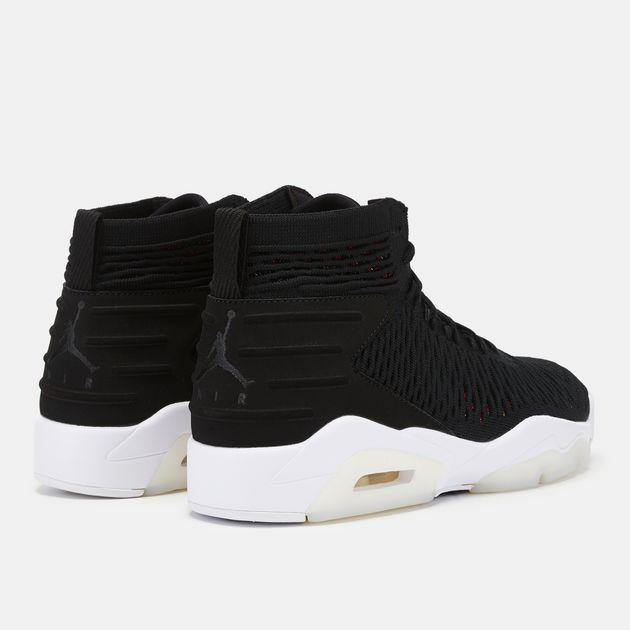 b7e56aad2ce3bf Black Jordan Flyknit Elevation 23 Shoe