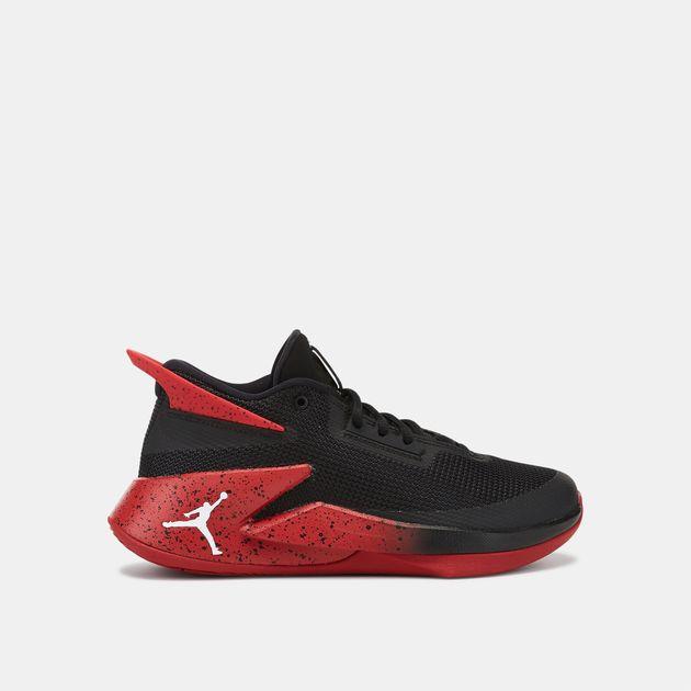 a765a66fa2dac Black Jordan Kids  Fly Lockdown Shoe