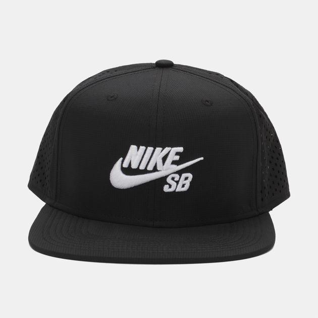quality design 8a2c3 52aaa NikeSB Performance Trucker Hat - Black, 936989