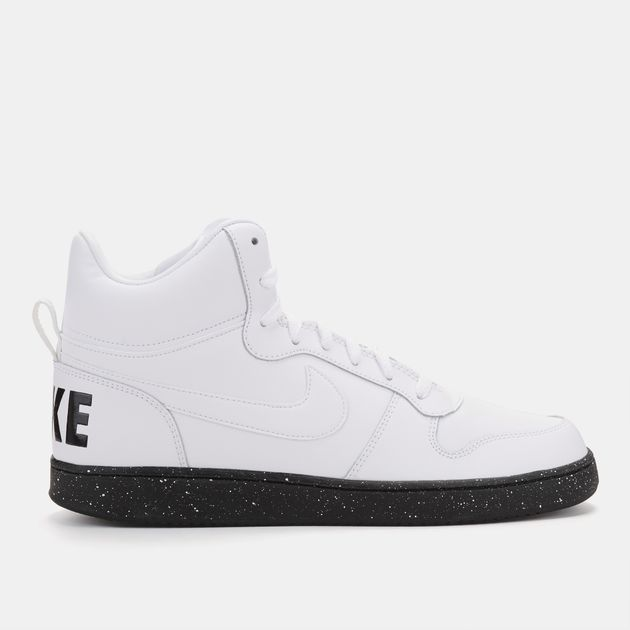 new arrive hot new products cheaper Shop White Nike Court Borough Mid Premium Shoe for Mens by ...