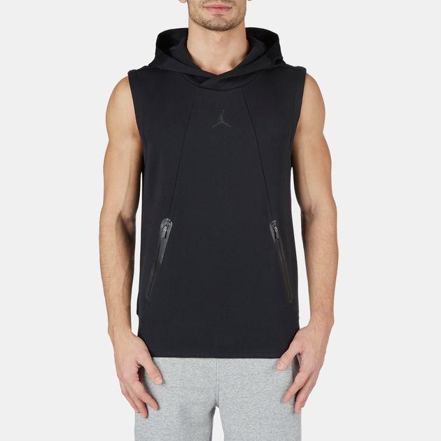 8c09a8db273dd5 Shop Black Jordan Air Jordan Lite S L Fleece Hoodie for Mens by ...