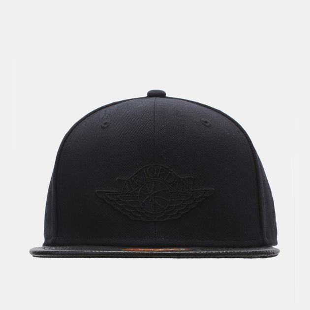 04abc90d994 Shop Black Jordan 2 Snapback Cap for Mens by Please select a brand