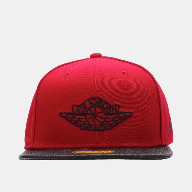 ba134d7c50a5e3 Shop Red Jordan 2 Snapback Cap for Mens by Please select a brand