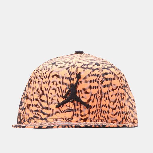 0b4a1d90bce Shop Black Jordan Jumpman Seasonal Snapback Cap for Mens by Please ...
