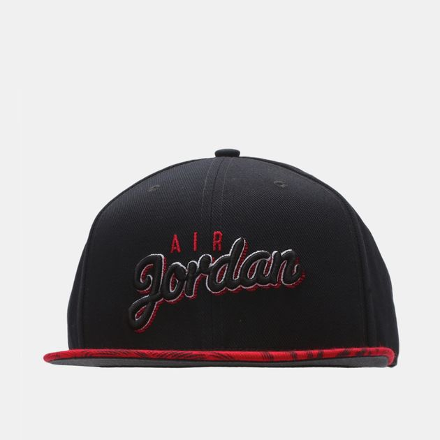 Jordan Air Jordan Seasonal Print Snapback Cap - Black