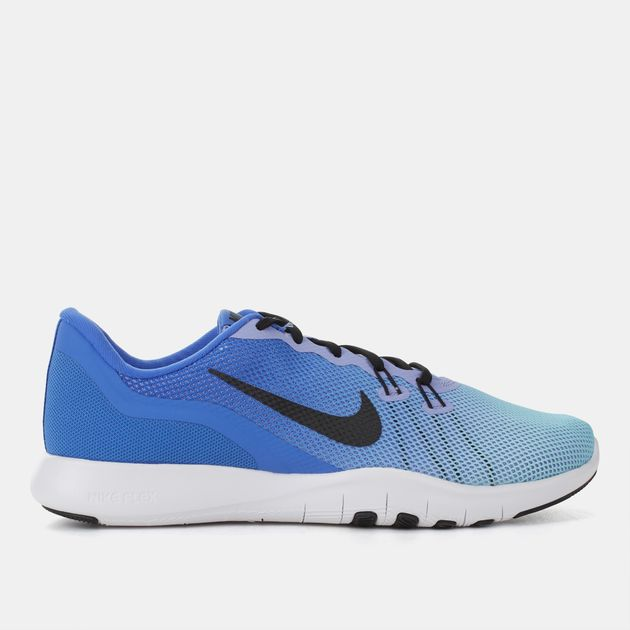 f0f12f746c07d Shop Blue Nike Flex Trainer 7 Fade Training Shoe for Womens by Nike ...