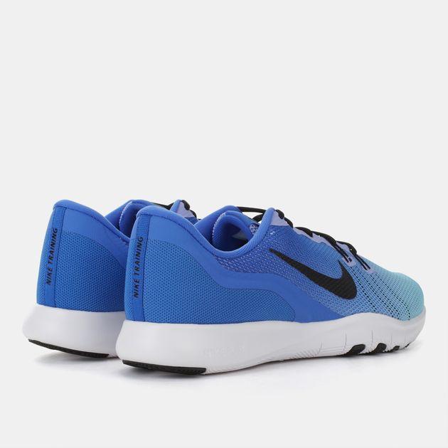 173edc01b8e5c Shop Blue Nike Flex Trainer 7 Fade Training Shoe for Womens by Nike ...