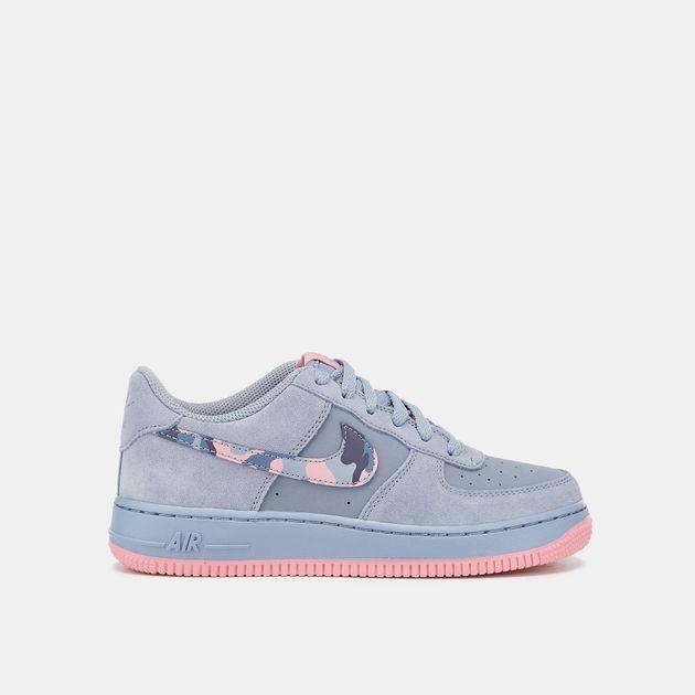 7e8987109f23 Nike Kids  Air Force 1 Grade School Shoe