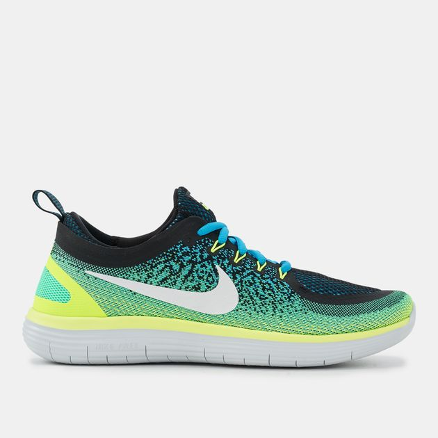 f5f96a939447b Shop Green Nike Free RN Distance 2 Running Shoe for Mens by Nike | SSS