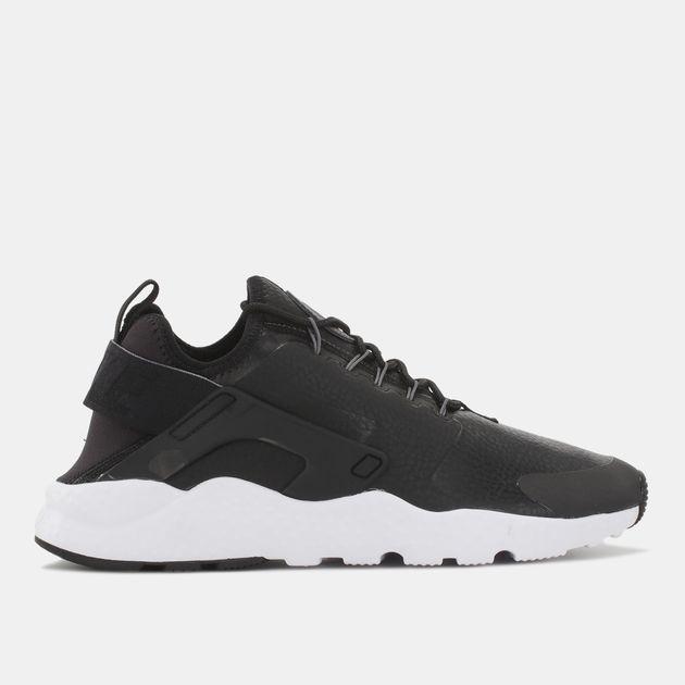 7f2f81b43215 Shop Black Nike Air Huarache Ultra Run Premium Shoe for Womens by ...