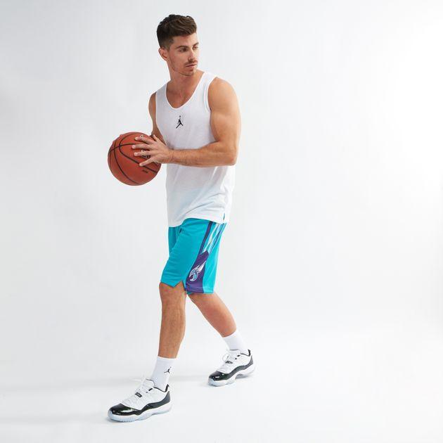 best loved ec708 57506 Shop Green Nike NBA Charlotte Hornets Jordan Icon Edition ...