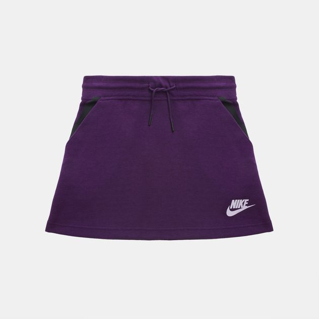 fc498b03a513 Shop Grey Nike Kids  Sportswear Tech Fleece Skirt for Kids by Nike