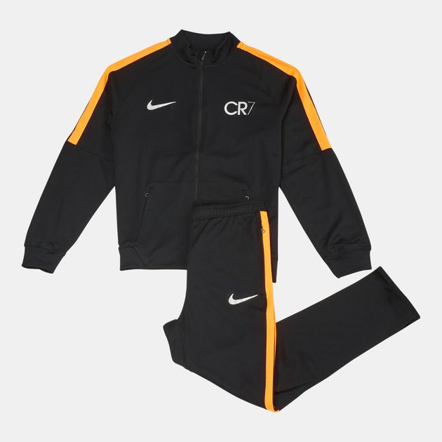 ce96fc0f63a0 Shop Black Nike Kids' Dry Squad CR7 Warm Up Tracksuit for Kids by ...
